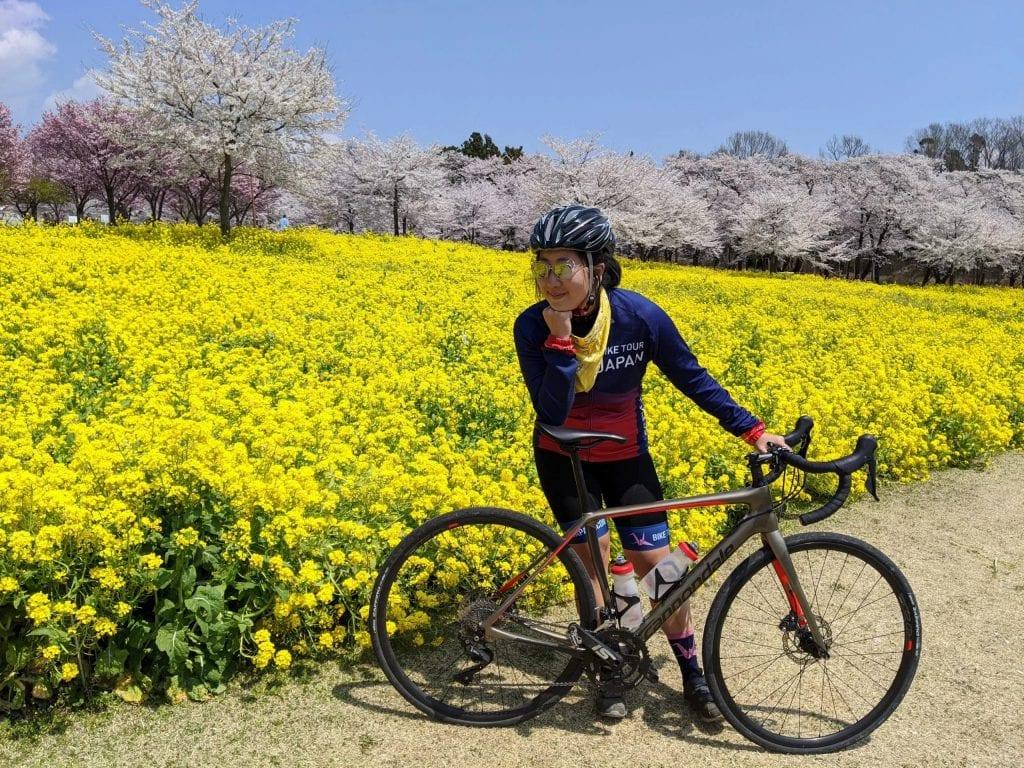 Enjoying the sunny days and spring bloom of Sakura of Kita Kanto late winters.