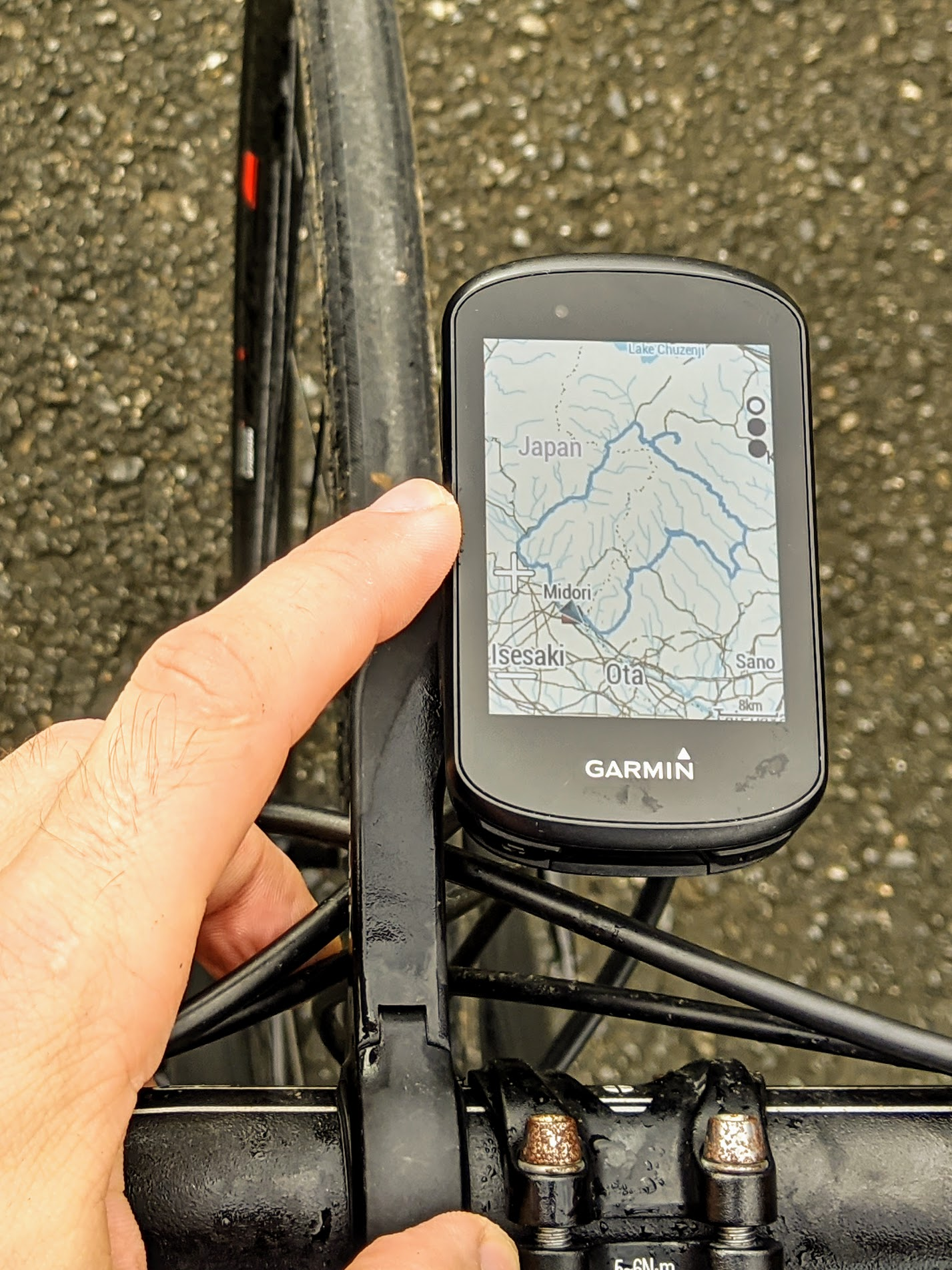 Garmin Computers for easy GPS Navigation while Cycling