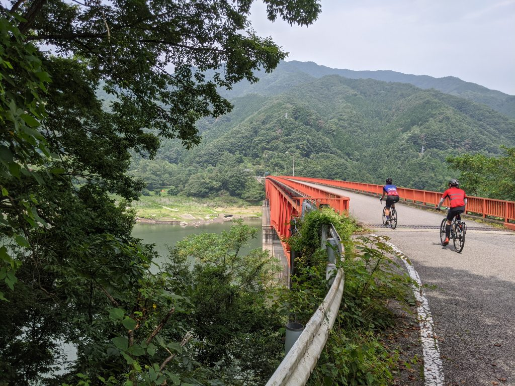 A perfect day cycling out in the countryside of Gunma!