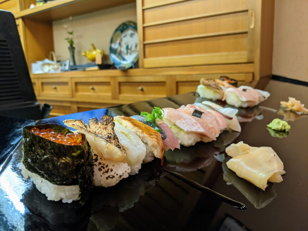 Sushi lovers will have no shortage of places to get delicious eats!