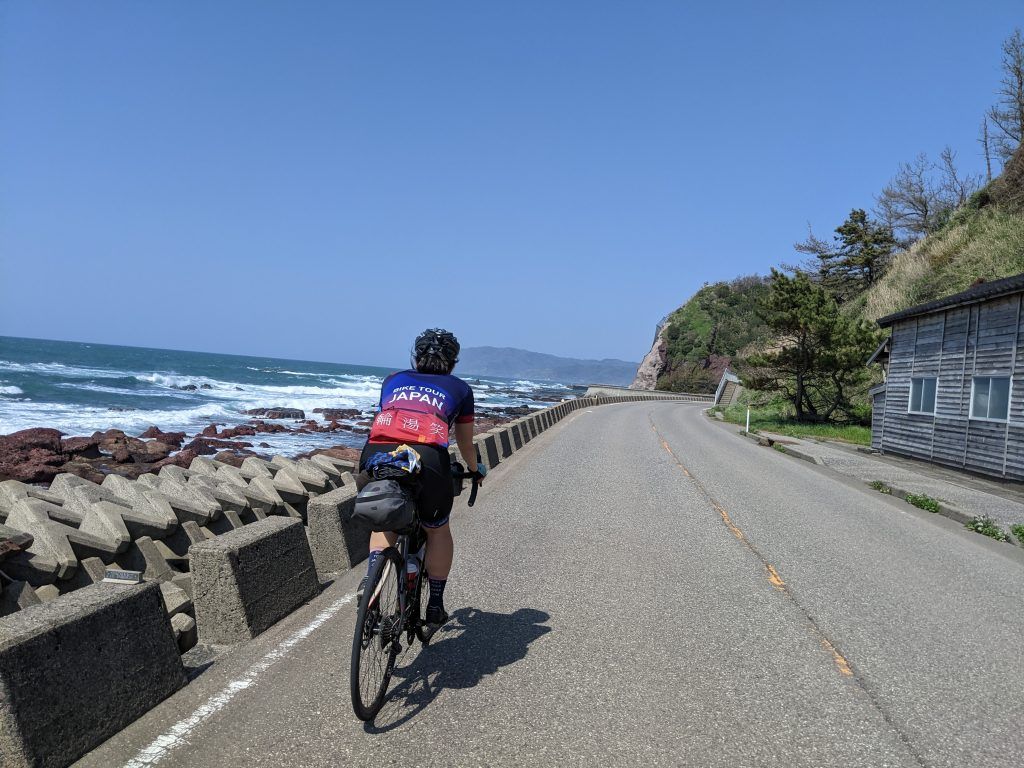 Flat to rolling coastal cruising kilometers for days in Noto.