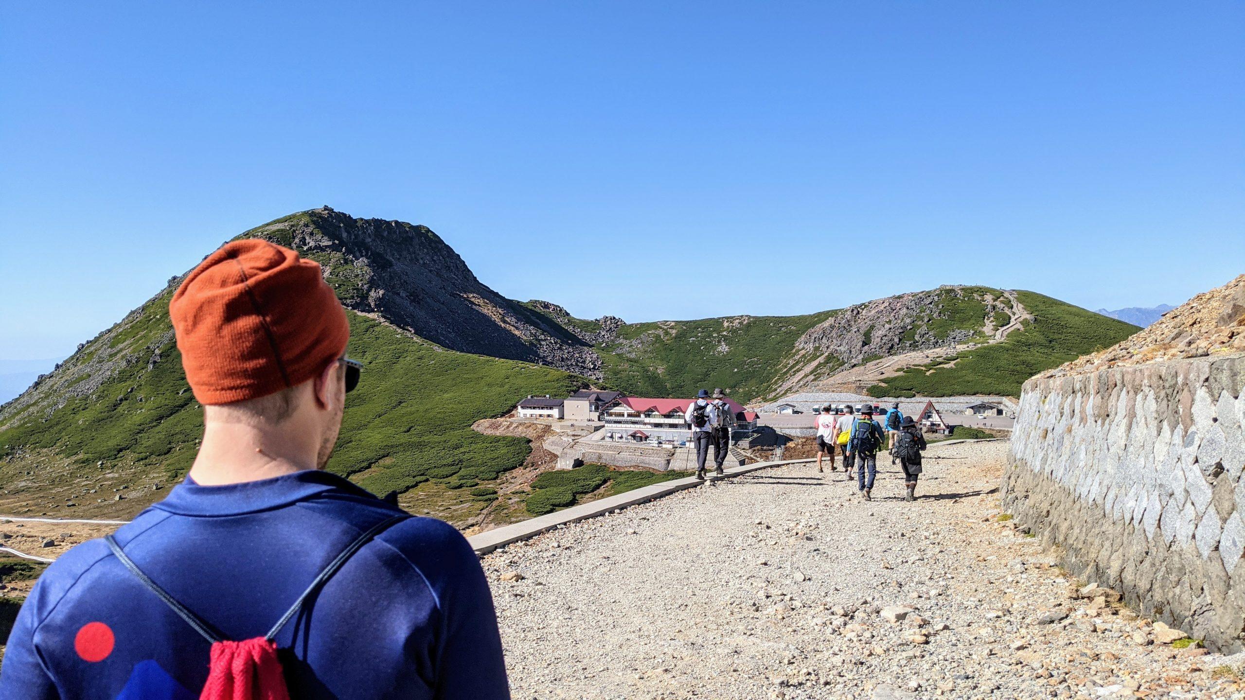 Norikura-dake hike to the summit