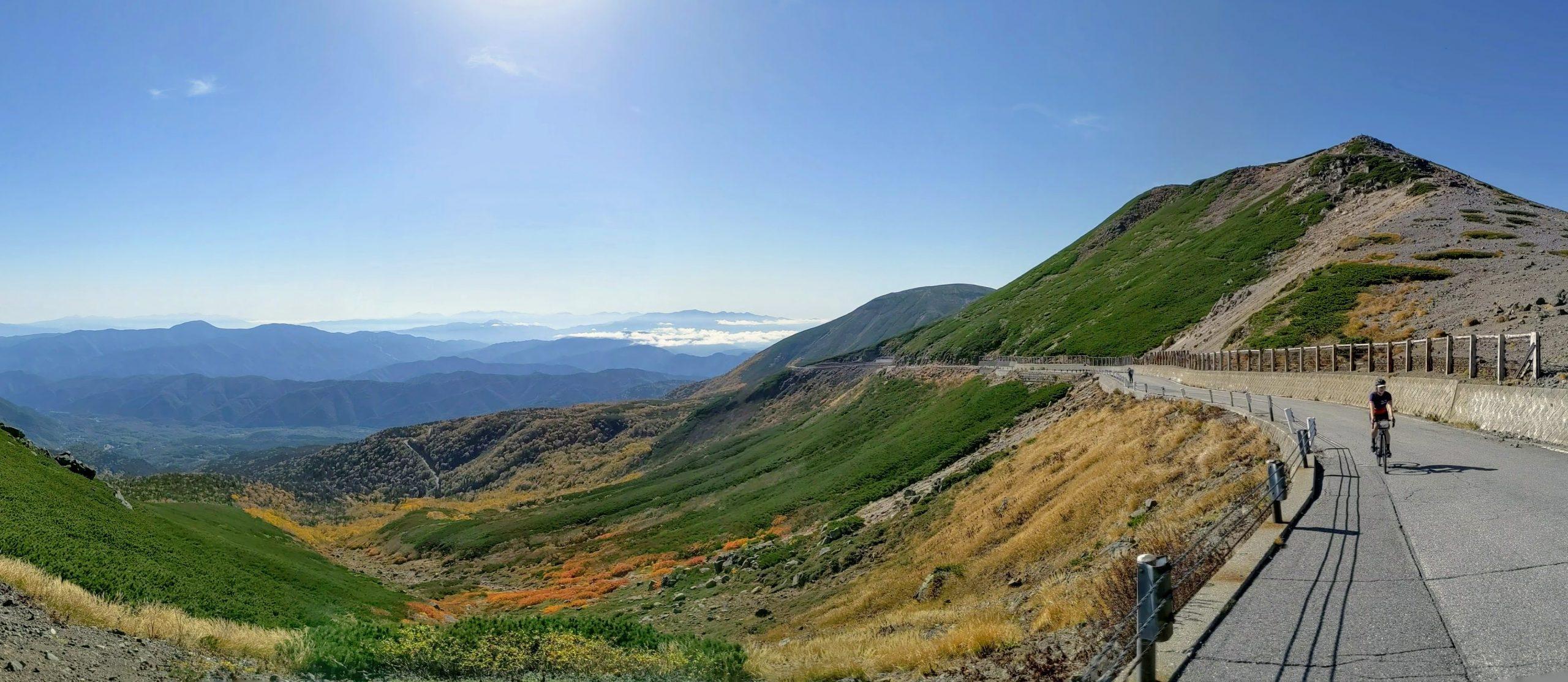 Near Norikura-dake's summit