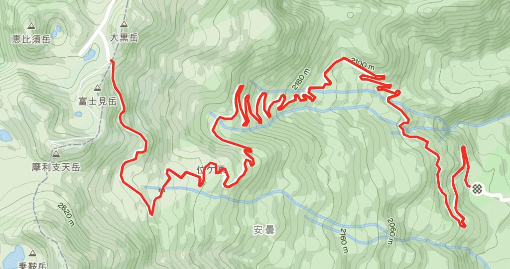 13km of car free epic volcano climbing!