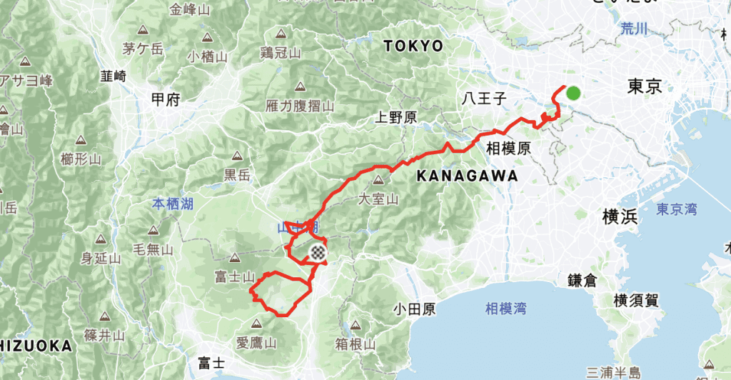 Tokyo Olympics 2020 / 2021 Official Route